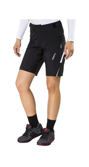 Craft X-Over fietsbroek kort Dames zwart